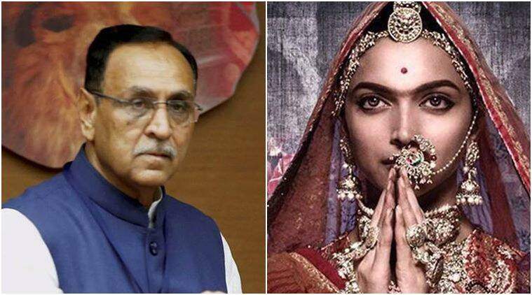 Vijay Rupani says to block Padmavati release in Gujarat