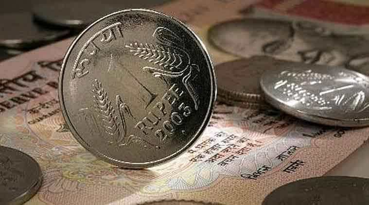 Rupee down 14 paise to 64.52 on RBI's inflation