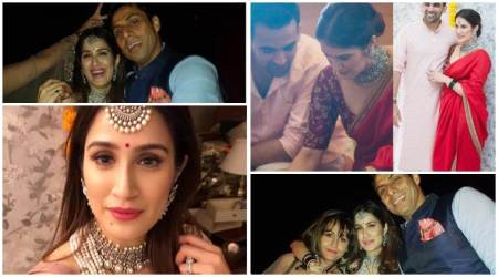 Sagarika Ghatge weds Zaheer Khan: Post registered marriage, the newlyweds host cocktail party