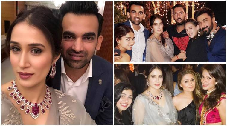 Zaheer Khan and Sagarika Ghatge host a low-key wedding reception