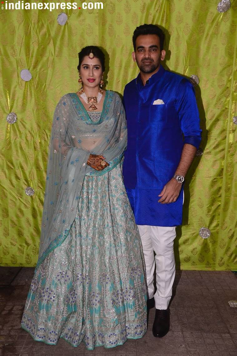 Sagarika Ghatge-Zaheer Khan wedding: Who wore what and when at the ...