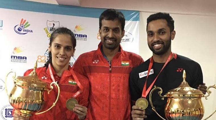 saina nehwal, pullela gopichand, senior national badminton championships