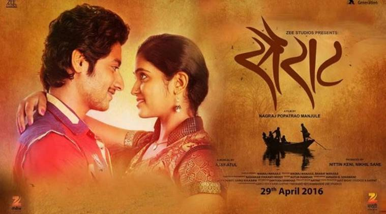 Marathi film Sairat won a National Award.