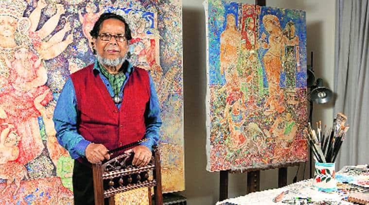 A retrospective looks at the many strands that make Sakti Burman's distinctive oeuvre