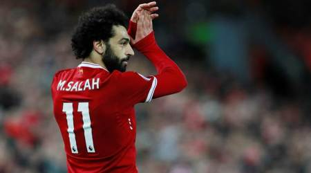 Mohamed Salah, Mohamed Salah Liverpool, Mohamed Salah goal, Liverpool vs Southampton, sports news, football, Indian Express