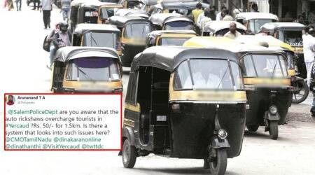 Man complaining about rickshaw fares in Tamil Nadu's Salem ends up tweeting to US Salem Police
