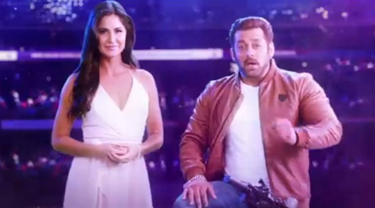Salman Khan will be accompanied by Katrina Kaif.
