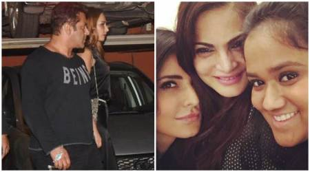 See inside pictures of Arpita Khan Sharma's anniversary party. Salman Khan, Katrina Kaif, Iulia Vantur were all present