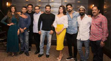 Salman Khan begins shooting for Race 3, shares photo from mahurat shot