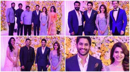 Inside photos of Samantha Ruth Prabhu and Naga Chaitanya's wedding reception: See all those who attended