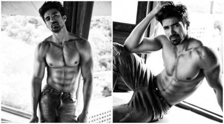 Photos: Race 3 actor Saqib Saleem doing 'Ryan Reynolds Deadpool workout'