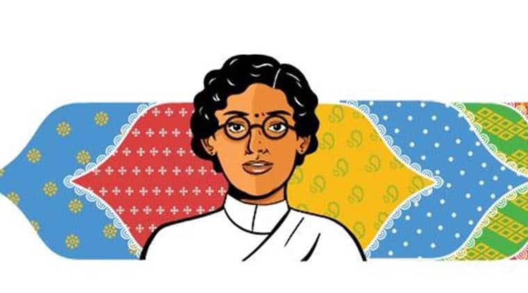 Anasuya Sarabhai, Google Doodle, indianexpress news