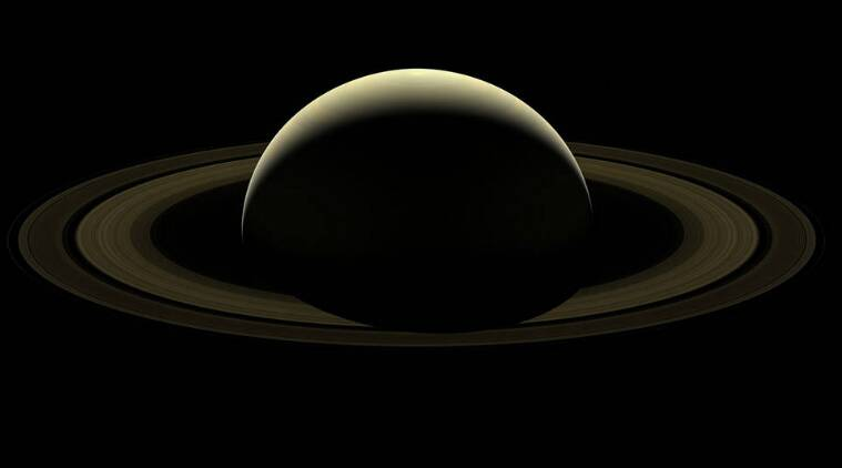 NASA collected Cassini's last images of Saturn to create a mosaic of the ringed gas giant.