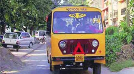 52 school buses impounded for flouting norms:RTO