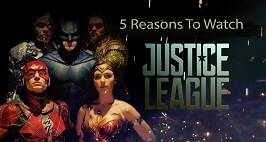 5 Reasons To Watch DC Film Justice League