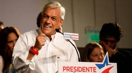 Pinera wins first round of Chile election
