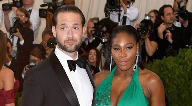 Serena Williams & Alexis Ohanian say I do!