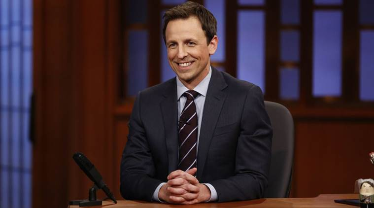 The 2018 Golden Globe Awards host is ... Seth Meyers