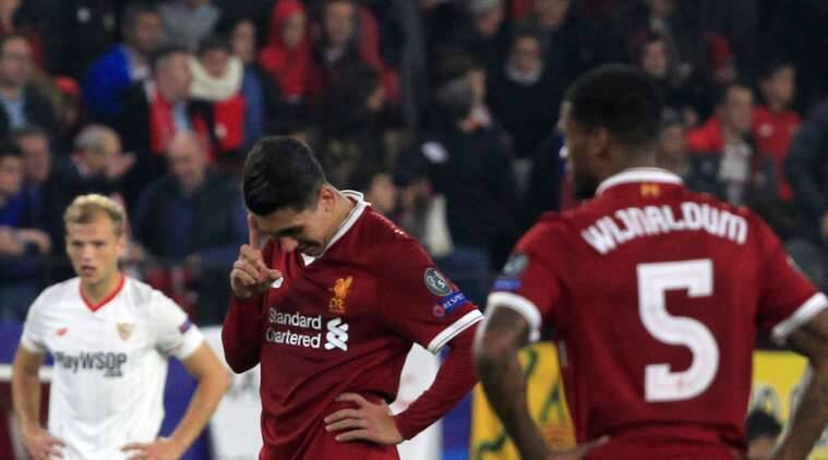 Sevilla drew 3-3 with Liverpool in UEFA Champions League