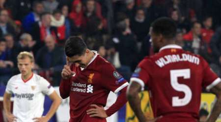 UEFA Champions League: Sevilla rally in second half as Liverpool waste 3-goal lead