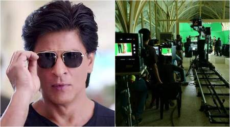 Shah Rukh Khan shares an interesting photo from the sets of Aanand L Rai film