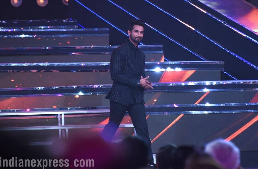 Shahid Kapoor was also present at the celebrations at IFFI.