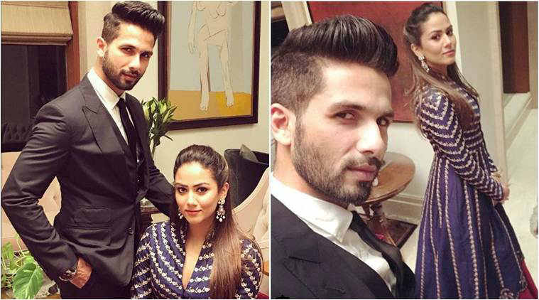 Shahid Kapoor ditches his Padmavati look, wife Mira Rajput is delighted