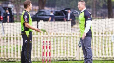 'Only the best bats for this Champion': Shane Watson plays cricket with John Cena
