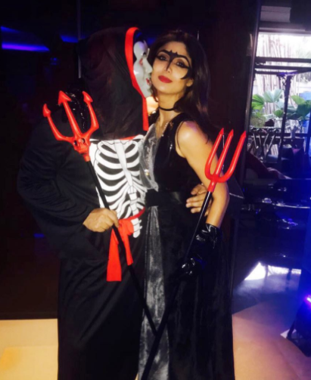 Shilpa Shetty, Shilpa Shetty photos, Halloween 2017, Halloween, happy Halloween, Halloween party pictures, Shilpa Shetty
