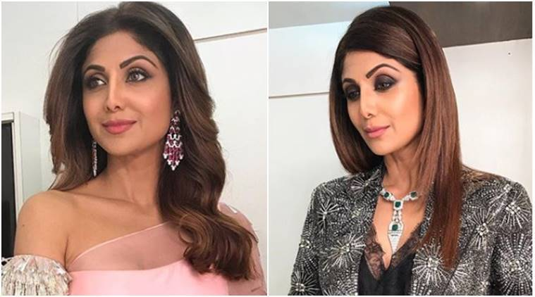 From sari to trousers, Shilpa Shetty dazzles in these two shimmery outfits; see pics
