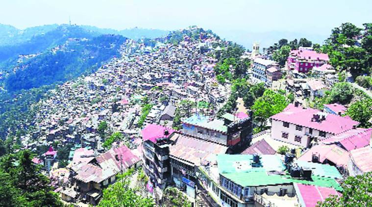 shimla construction ban, ngt, ngt on shimla construction, construction in shimla, himachal news, indian express news
