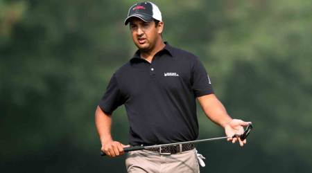 Shiv Kapur, Shamim Khan, Shamim Khan, Sudhir Sharma, Paul Peterson, Panasonic Open India, sports news, golf, Indian Express