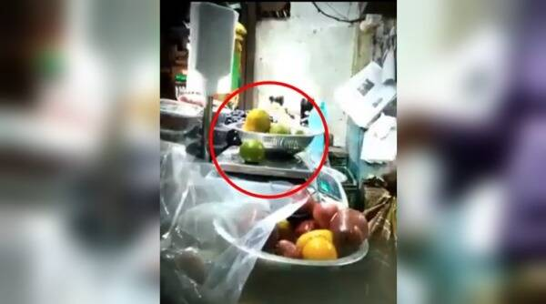 viral videos, viral videos india, shopkeepers cheating customers, fruit vendors cheating videos, fruit vendors cheating customer videos, shopkeepers in india cheating customers viral videos, indian express, indian express news