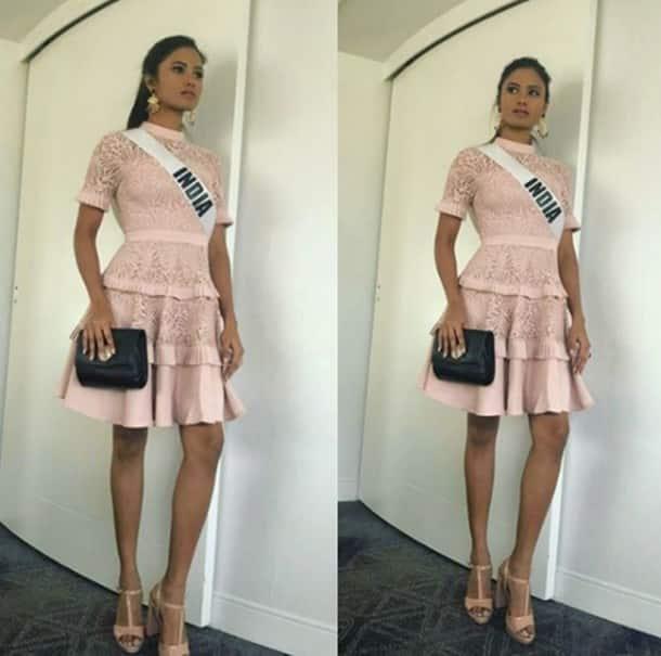 Miss Universe 2017, Miss Diva 2017, who won Miss Universe 2017, who won miss diva 2017, Shraddha Shashidhar, Shraddha Shashidhar's outfits, Indian express, Indian express news