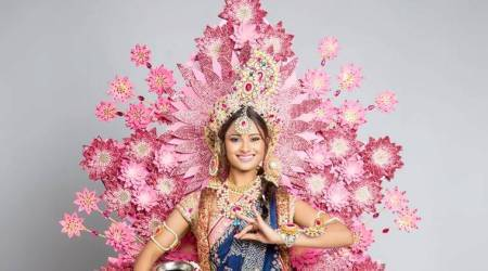 Miss Universe 2017: Shraddha Shashidhar's 'National Costume' symbolises love and purity in the form of Radha