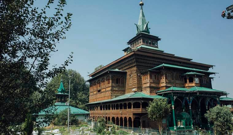 Midnight blaze partially damages 700-yr-old shrine in Srinagar