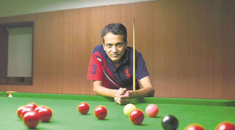 Siddharth Parekh, billiards champion, Railway employee, mumbai news, indian express news