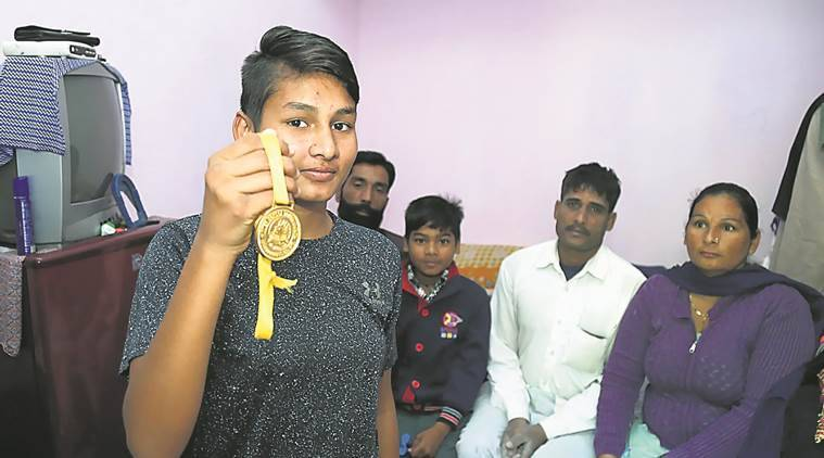 junior women national boxing, simran, under 17 boxing, chandigarh boxer, rohtak, indian express