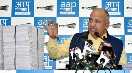 Delhi Deputy CM Manish Sisodia slams I-T notice to AAP