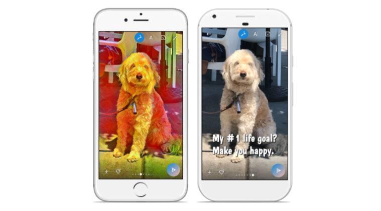Skype, Skype photo effects, Skype Highlights, Skype photo masks, Skype photo filters, Snapchat, Highlights Skype, Microsoft, Sprinkles app