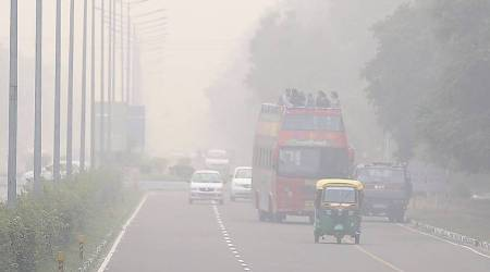 chandigarh air polltion, chandigarh smog, smog, chandigarh weather, chandigarh news, indian express news