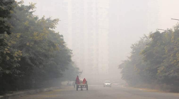 delhi smog, smoggy morning, delhi, delhi news, smog in delhi, smog in delhi ncr,