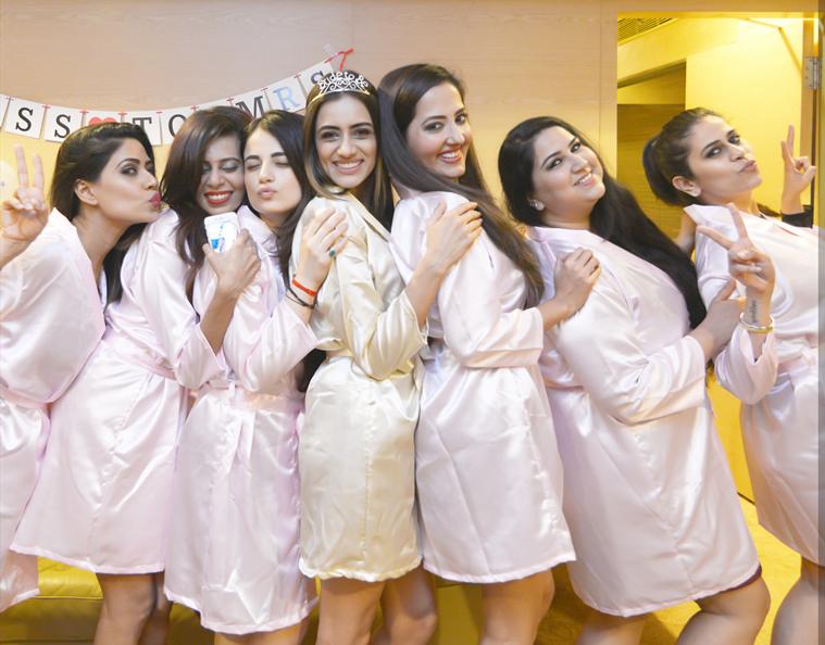 Smriti Khanna's bachelorette party photos