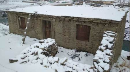 Himachal Pradesh: Lahaul and Spiti receives fresh snowfall