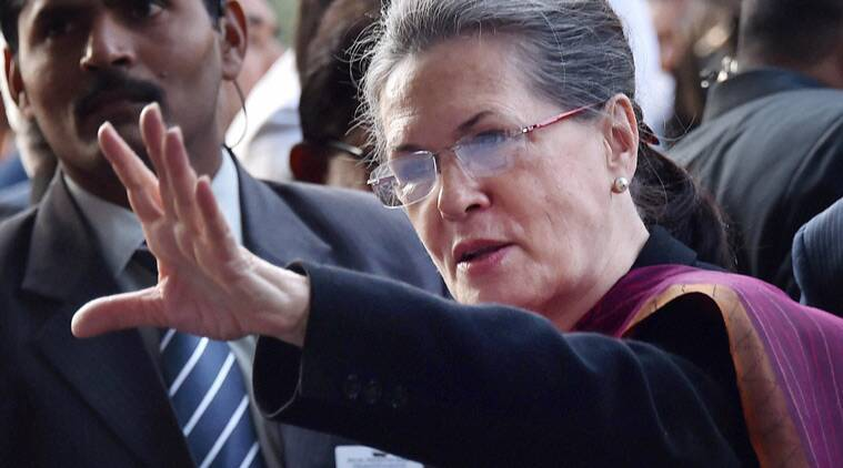 PM scared to face Parliament: Sonia Gandhi