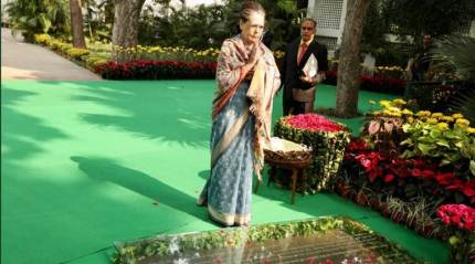 Indira fought for secularism, opposed those dividing India over religion: Congress President Sonia Gandhi
