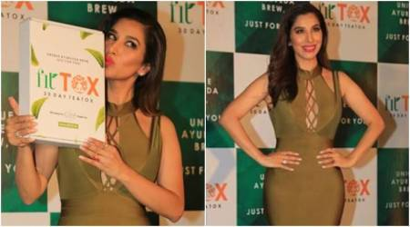 Sophie Choudry gives us a tutorial on how to rock a bodycon dress