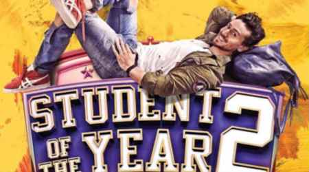 Student of The Year 2 poster Tiger Shroff
