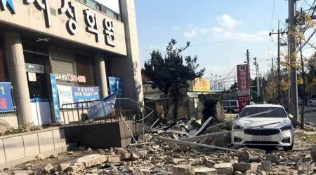 Rare quake measuring 5.4 in magnitude rocks southern South Korea