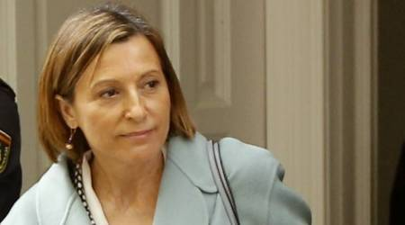 Detained Catalan speaker Carme Forcadell makes bail, may leave jail soon